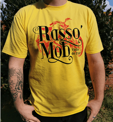 T shirt Rasso Mob jaune 2020 homme e1622206946811